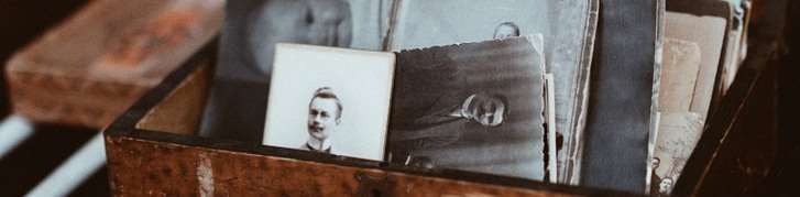 Bild av gammalt fot